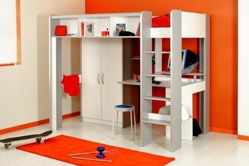 lit sur lev enfant space. Black Bedroom Furniture Sets. Home Design Ideas
