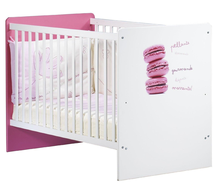 lit macaron sauthon 60x120 cm. Black Bedroom Furniture Sets. Home Design Ideas