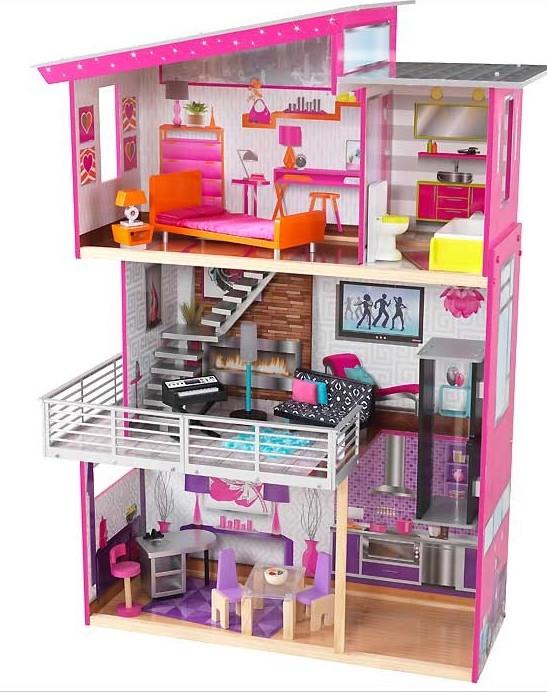 Maison de poup es luxury kidkraft 65871 - Maison poupee kidkraft ...