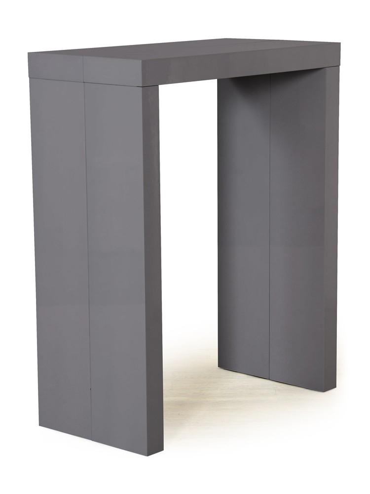 mange debout extensible gris laqu algo. Black Bedroom Furniture Sets. Home Design Ideas
