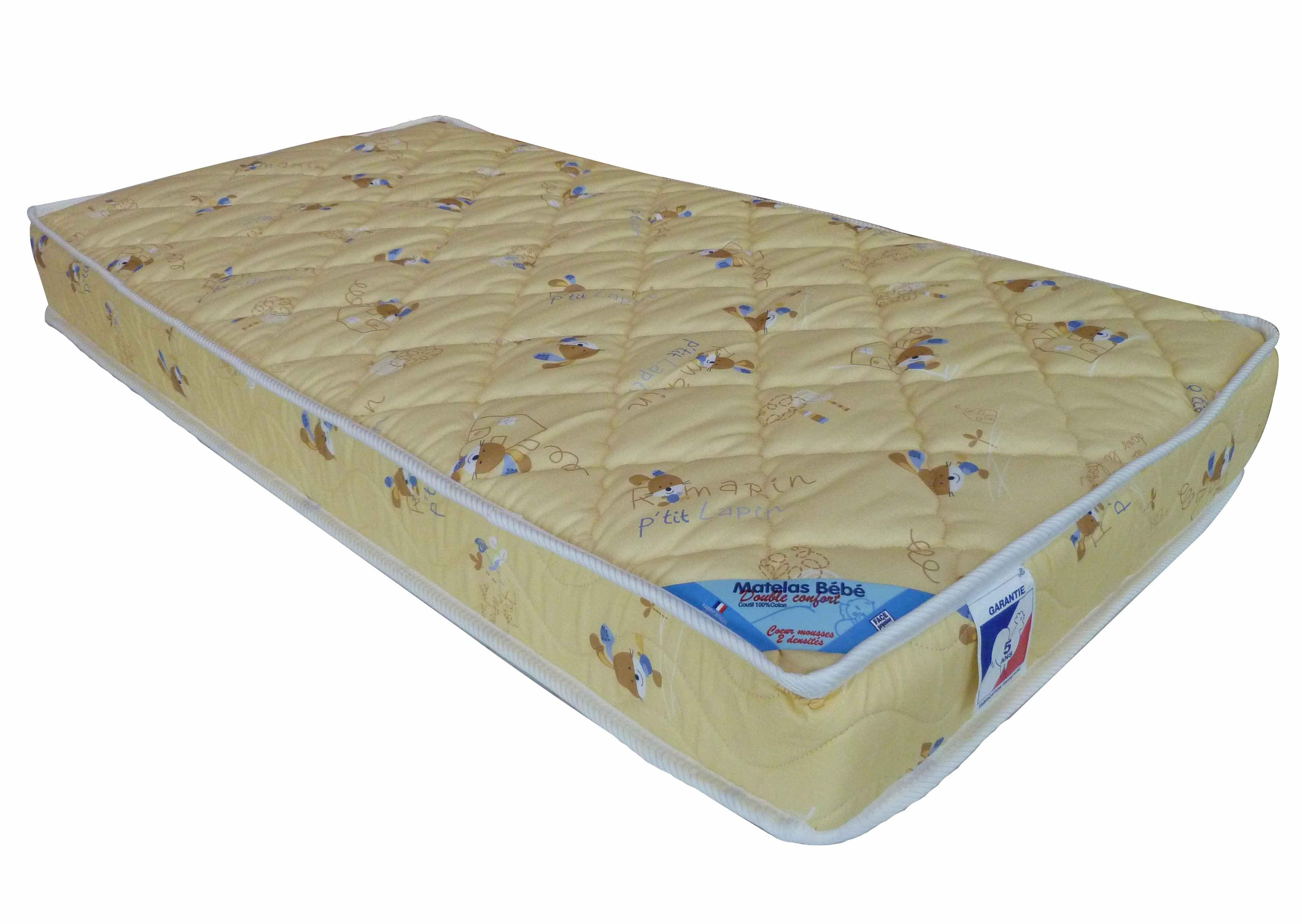matelas 70x140 cm confort. Black Bedroom Furniture Sets. Home Design Ideas
