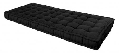 matelas noir 90 x 190 cm futon. Black Bedroom Furniture Sets. Home Design Ideas