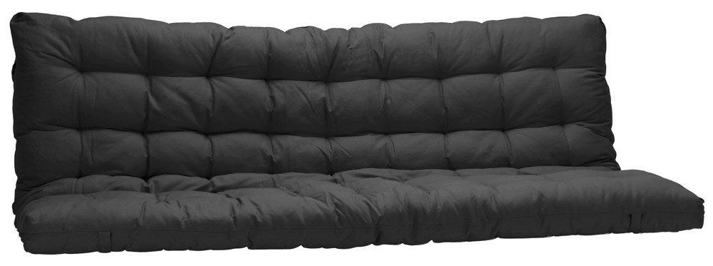 matelas noir pour banquette futon 135x190cm. Black Bedroom Furniture Sets. Home Design Ideas