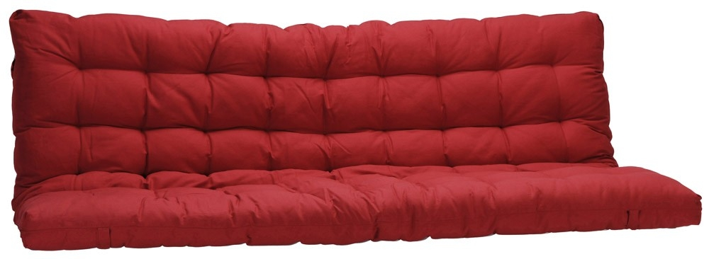 matelas rouge pour banquette futon 135x190cm. Black Bedroom Furniture Sets. Home Design Ideas