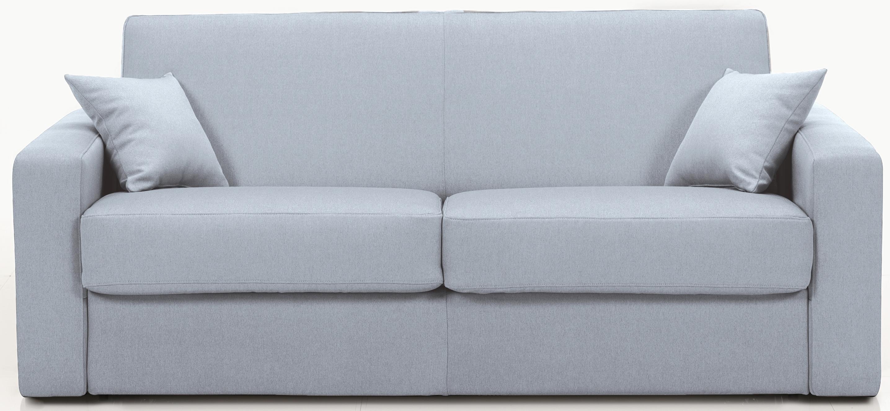 canap convertible rev tement tissu gris stener mod le 1 place. Black Bedroom Furniture Sets. Home Design Ideas