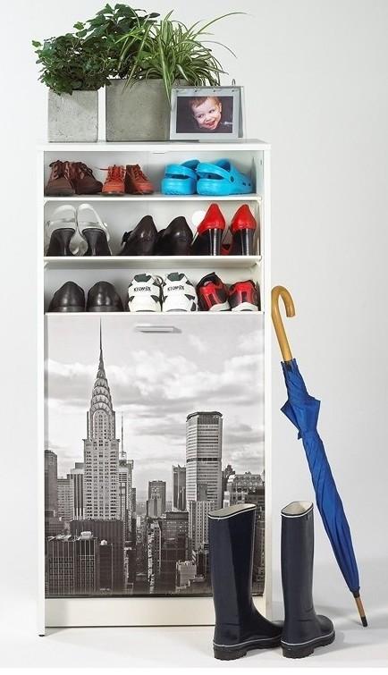 Meuble chaussures blanc new york - Meuble a chaussure new york ...