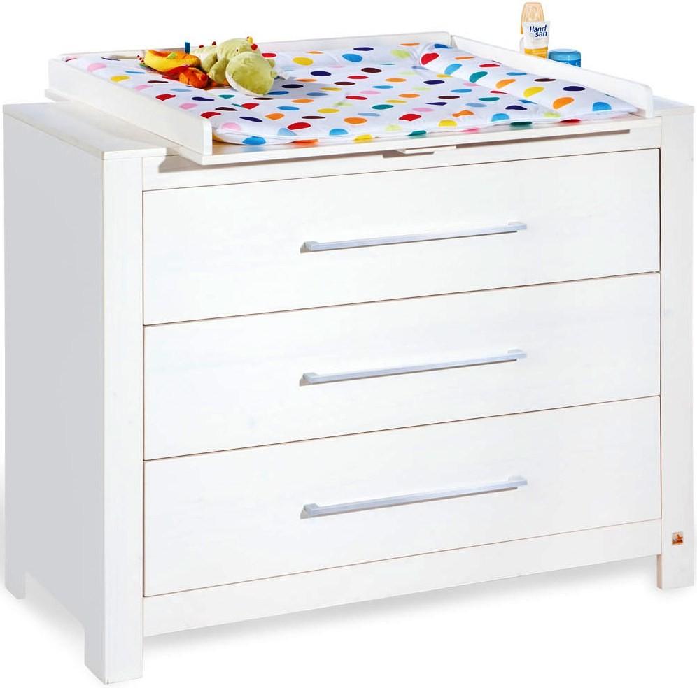 commode langer pin massif blanc puro. Black Bedroom Furniture Sets. Home Design Ideas