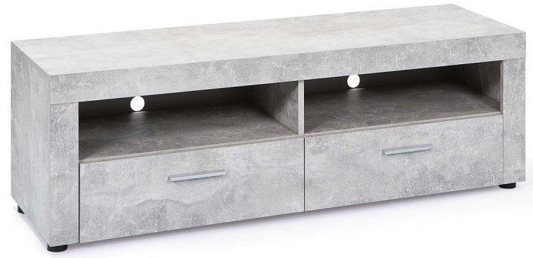 meuble tv aspect b ton bonnie. Black Bedroom Furniture Sets. Home Design Ideas