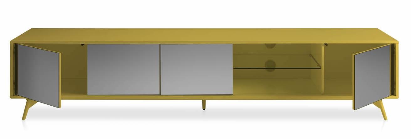 meuble tv bois laque et verre miroir gris loza 90630 Résultat Supérieur 50 Unique Meuble Tv Bois Et Verre Image 2018 Hgd6