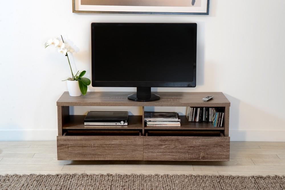 meuble tv ch ne champagne. Black Bedroom Furniture Sets. Home Design Ideas