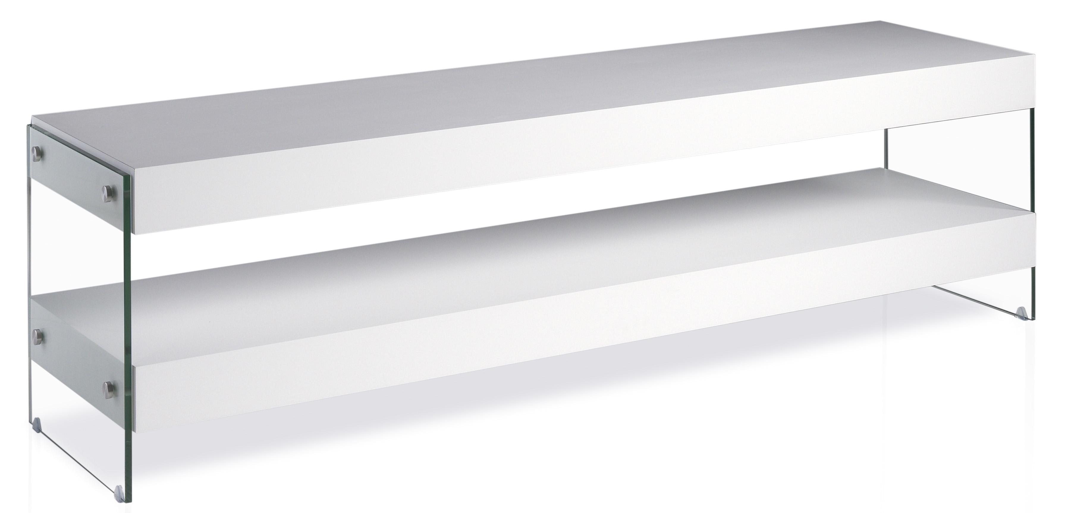 meuble tv laqu cubique couleur blanc. Black Bedroom Furniture Sets. Home Design Ideas