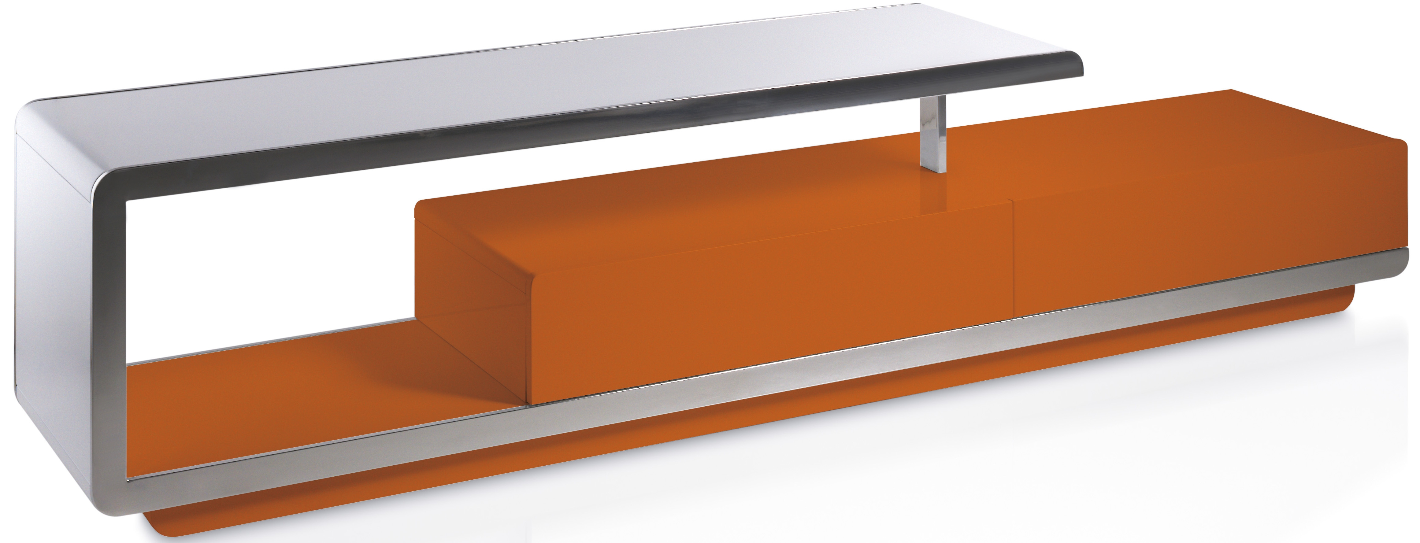 Meuble Tv Fly Orange Design D Int Rieur Et Inspiration De Meubles # Meuble Tele Lumiere