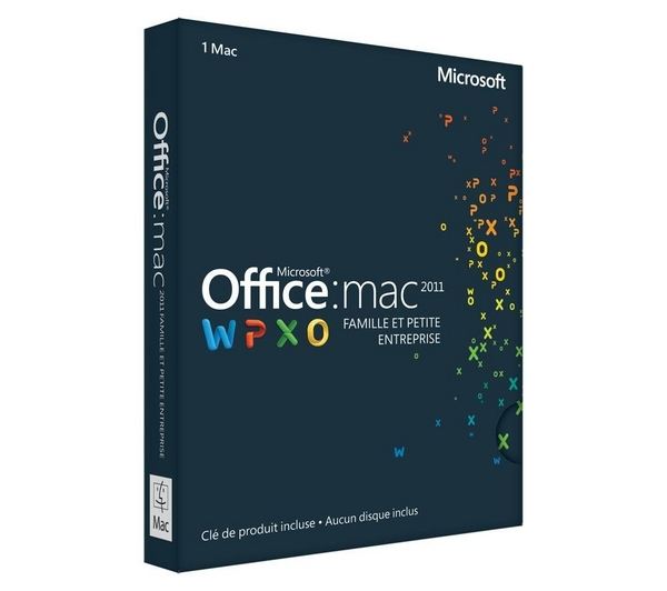 Microsoft mac office famille et petite entreprise 2011 - Office famille et petite entreprise ...