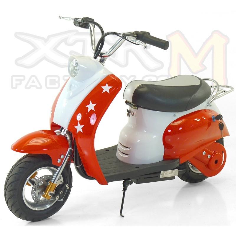 mini scooter lectrique 350w rouge. Black Bedroom Furniture Sets. Home Design Ideas