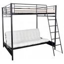 matelas noir pour banquette futon. Black Bedroom Furniture Sets. Home Design Ideas