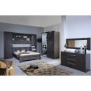 lit weng led integr avec am nagement carmona. Black Bedroom Furniture Sets. Home Design Ideas