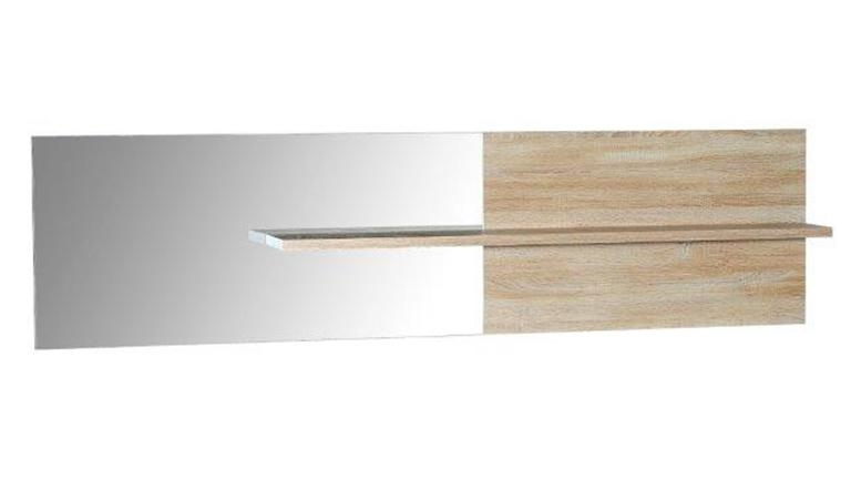 Miroir avec tag re liscia for Miroir etagere