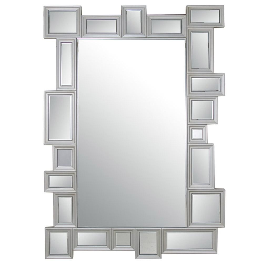 Miroir multicadres venio for Miroir mural rectangulaire sans cadre
