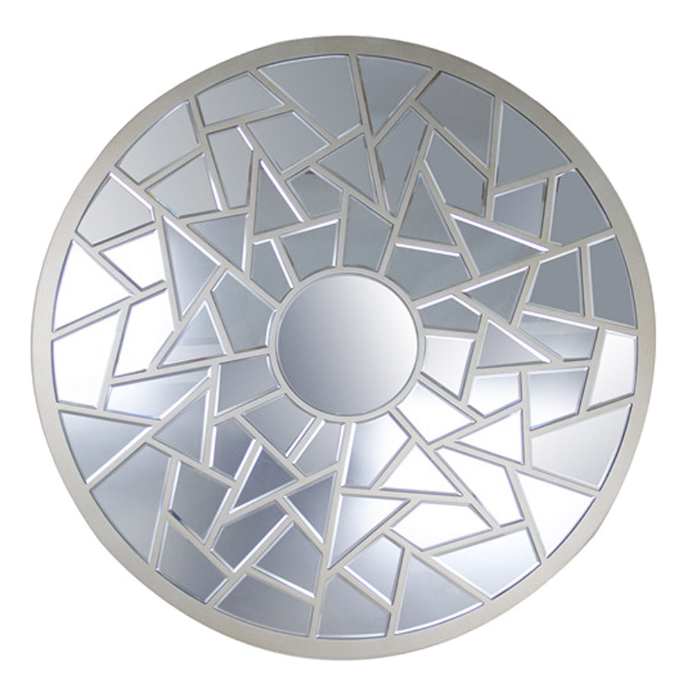 Miroir design rond parabole for Miroir rond design