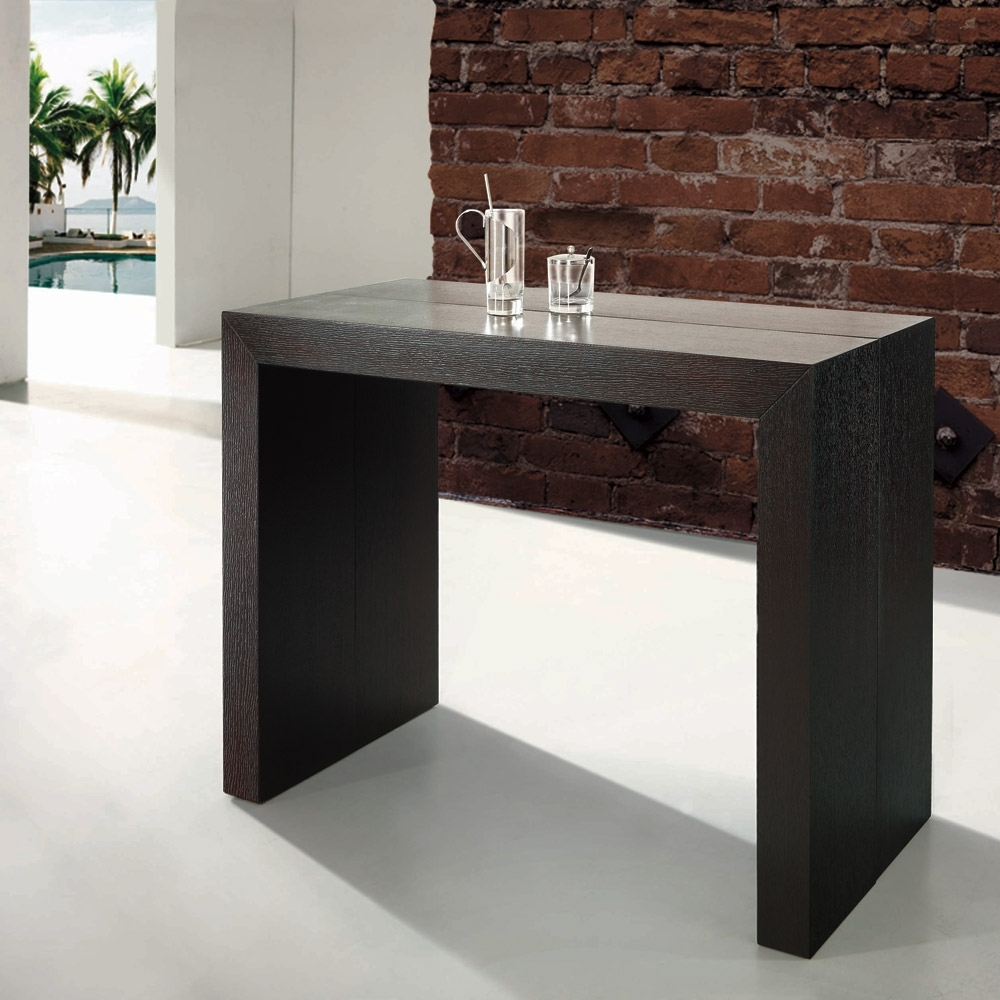 table console extensible en bois missie. Black Bedroom Furniture Sets. Home Design Ideas