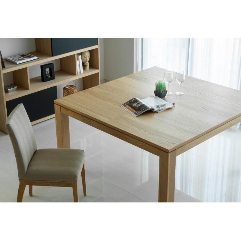Table a manger carree extensible table salle a manger design ... 585c5da13863