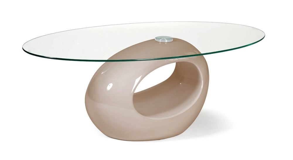 Table basse laqu e taupe n nuphar - Table basse laquee taupe ...