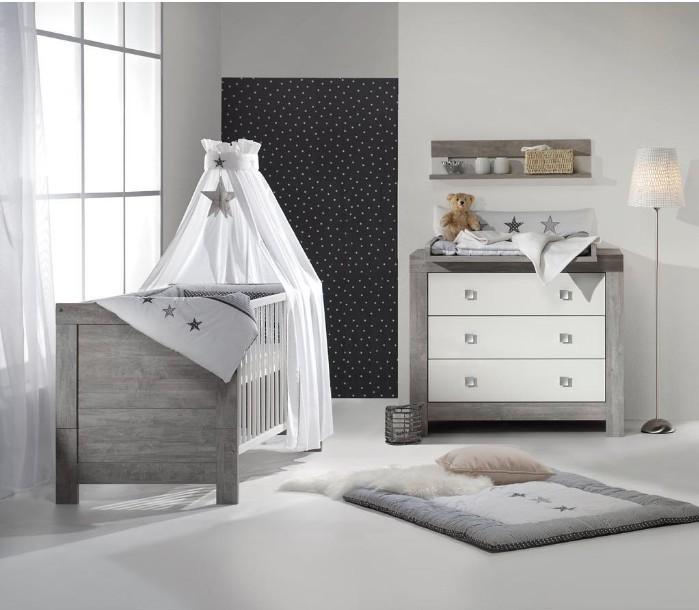 Chambre Gris Et Blanc: Pack Duo Chambre Grise Et Blanche Nordic Driftwood