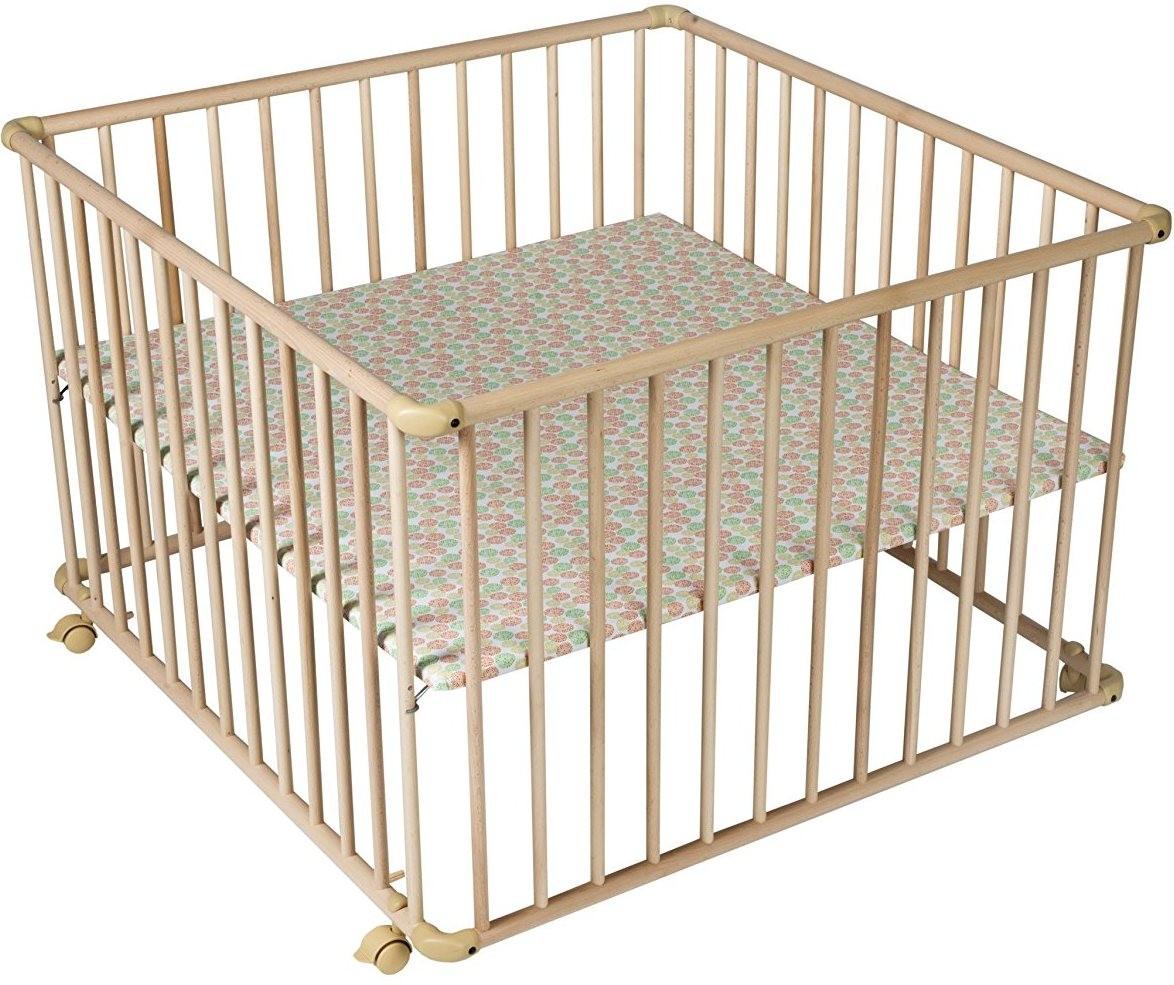 parc h tre massif naturel basic 100x100 cm. Black Bedroom Furniture Sets. Home Design Ideas