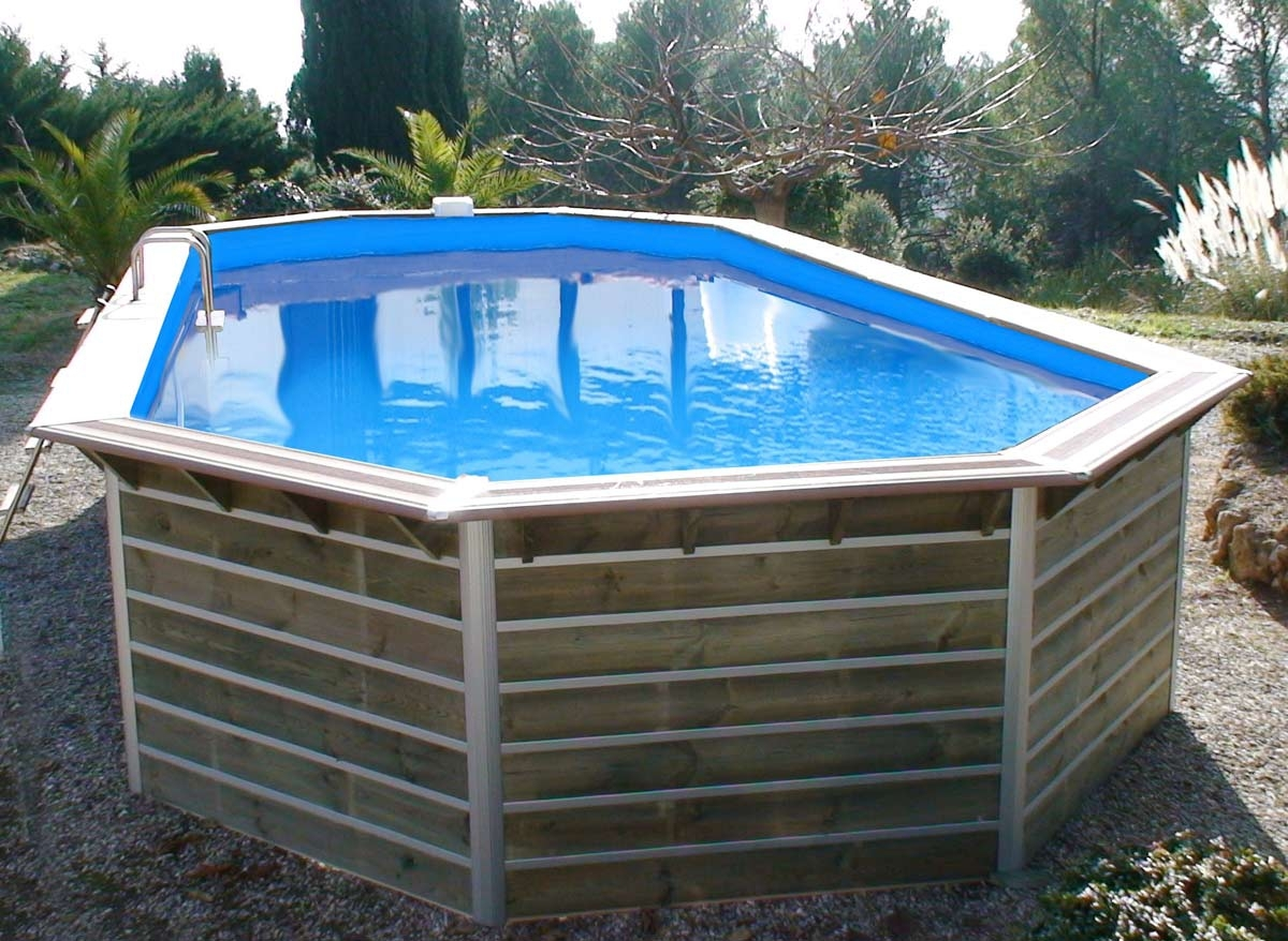 Piscine bois waterclip calayan 8m90 for Piscine hors sol enterrable