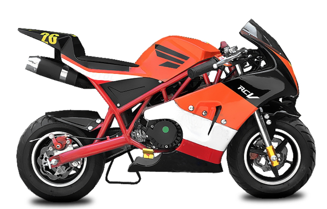 pocket bike rocket sport ps50 49cc rouge. Black Bedroom Furniture Sets. Home Design Ideas