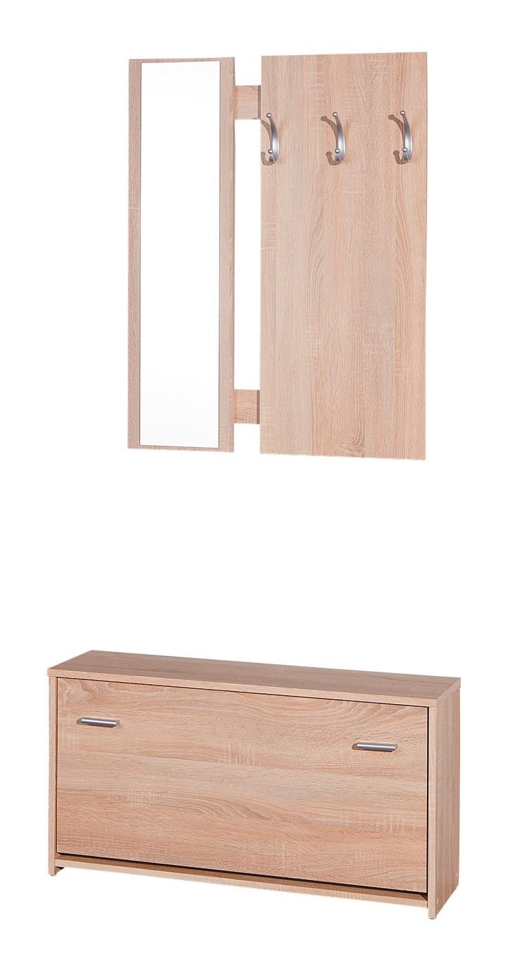 porte manteau et meuble chaussures sonoma safia. Black Bedroom Furniture Sets. Home Design Ideas