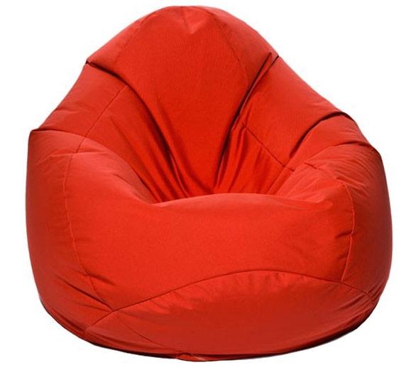 pouf poire jumbo bag scuba xxl rouge. Black Bedroom Furniture Sets. Home Design Ideas