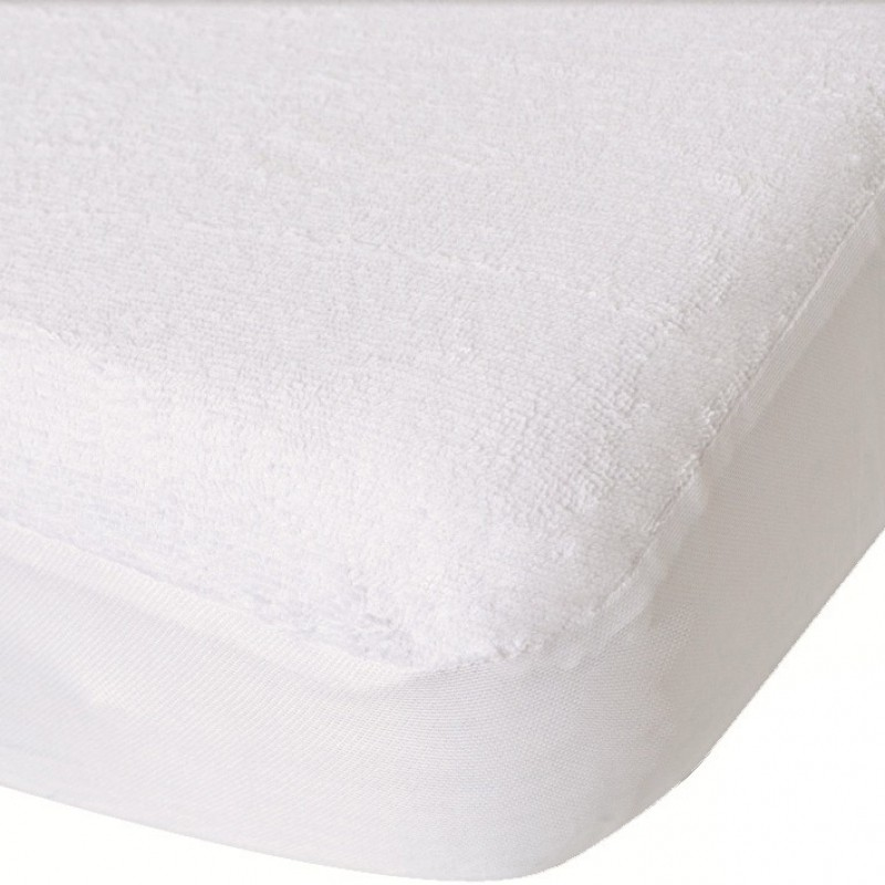 prot ge matelas b b 50 x 100 cm blanc toucan. Black Bedroom Furniture Sets. Home Design Ideas