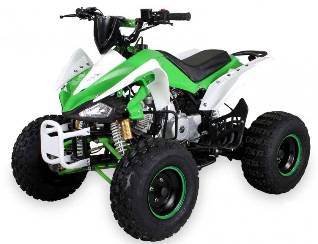 quad 125cc semi automatique panthera 8 vert. Black Bedroom Furniture Sets. Home Design Ideas