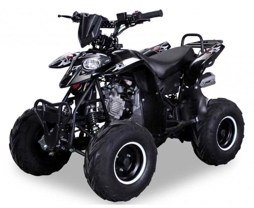 quad ado 125cc automatique razer rg 7 noir. Black Bedroom Furniture Sets. Home Design Ideas