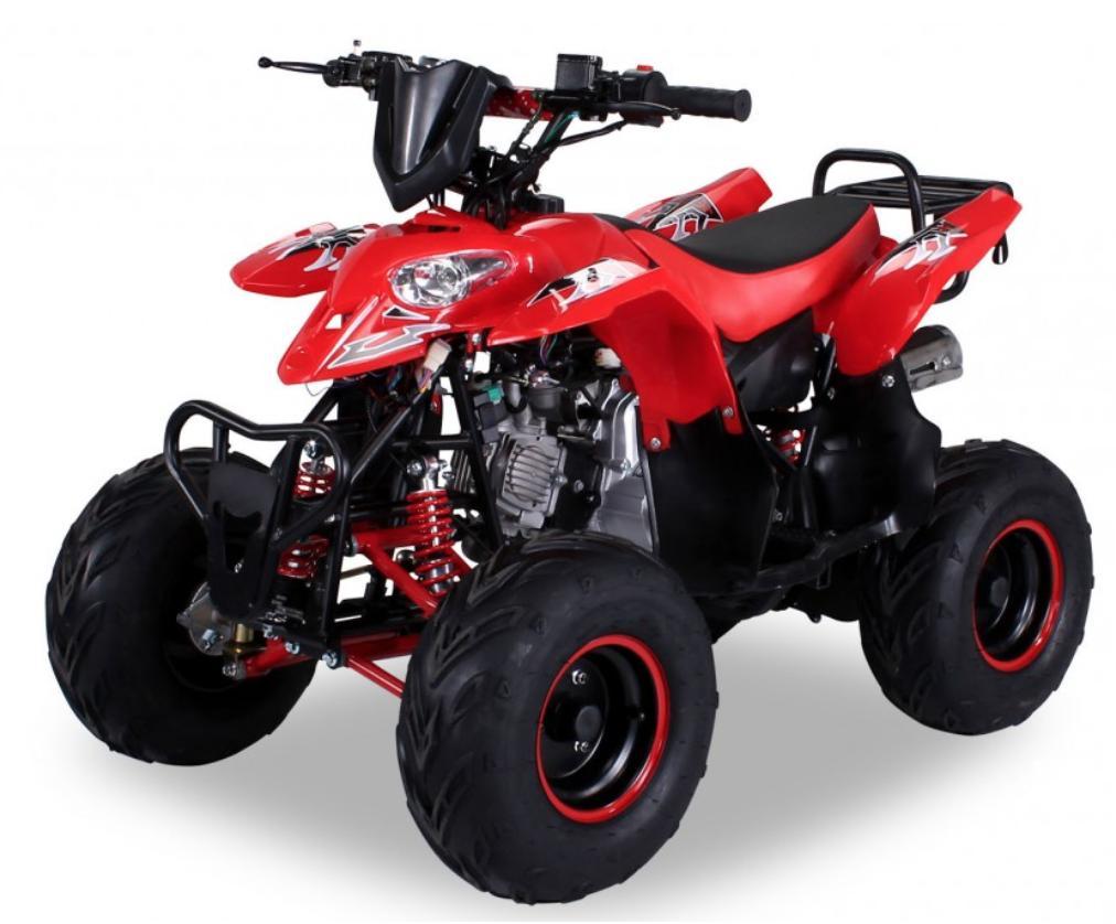 quad ado 125cc automatique razer rg 7 rouge. Black Bedroom Furniture Sets. Home Design Ideas