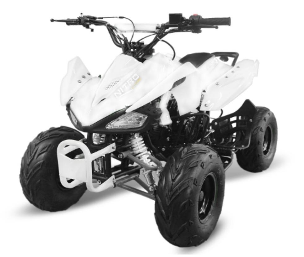 quad 125cc automatique speedy rg 7 blanc. Black Bedroom Furniture Sets. Home Design Ideas
