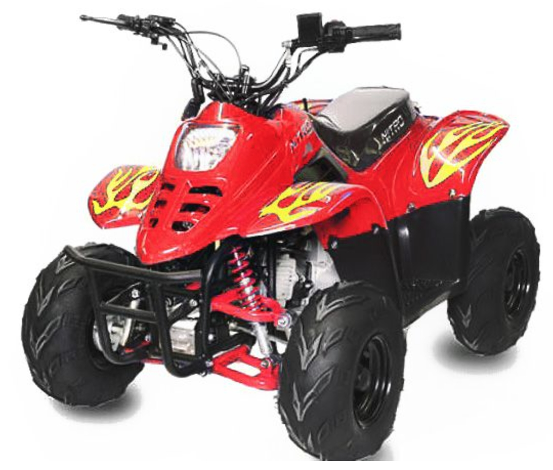 quad enfant 125cc bigfoot 6 rouge. Black Bedroom Furniture Sets. Home Design Ideas