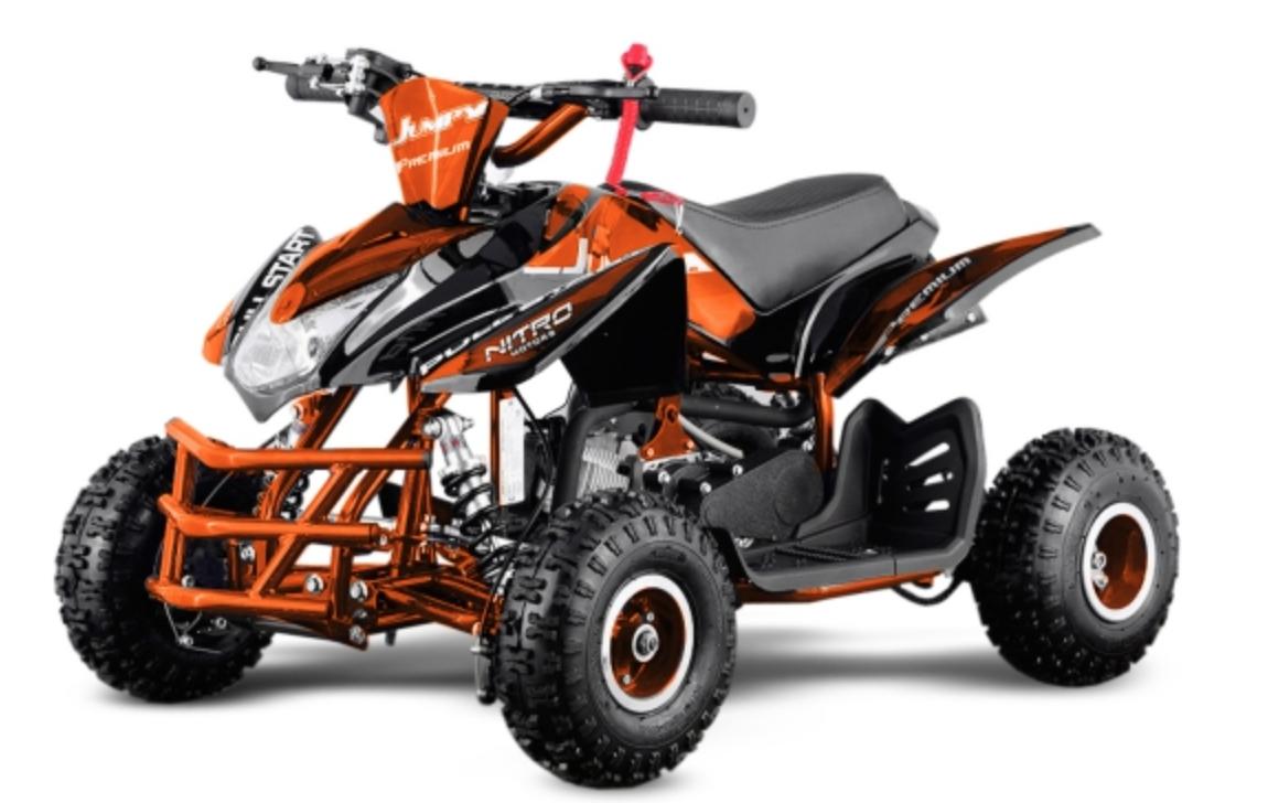 quad essence 49cc jumpy premium 4 orange. Black Bedroom Furniture Sets. Home Design Ideas