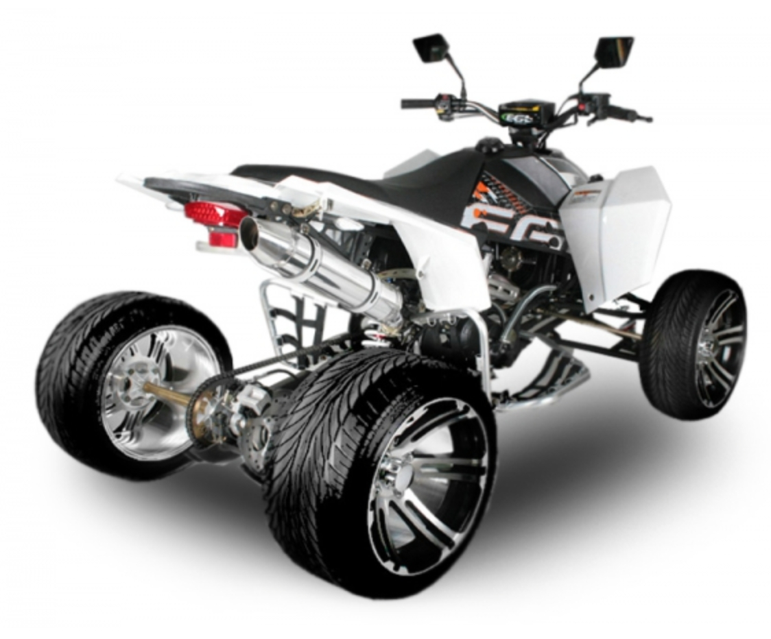 quad homologu 250cc mad max offroad blanc. Black Bedroom Furniture Sets. Home Design Ideas