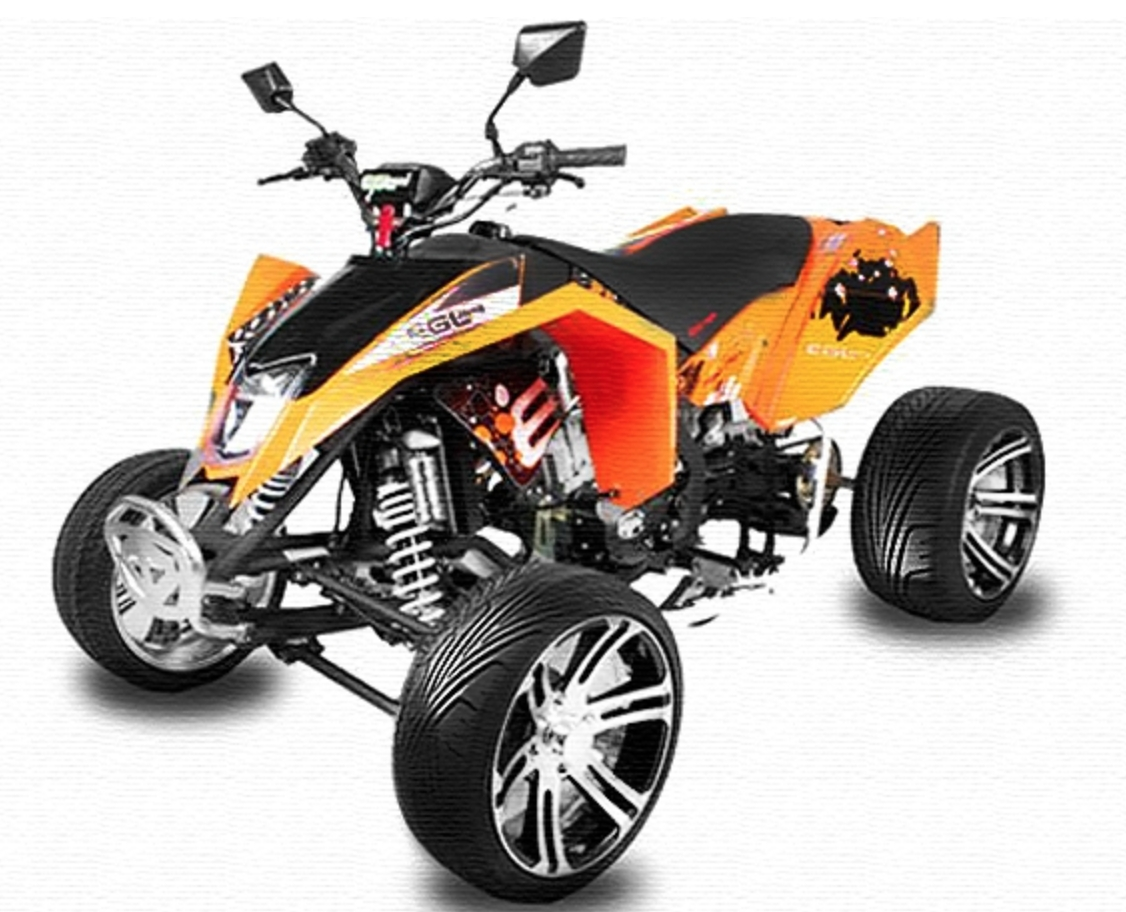 quad homologu 250cc mad max offroad orange. Black Bedroom Furniture Sets. Home Design Ideas