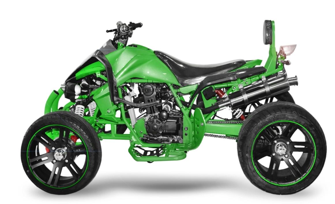 quad homologu 250cc speedbird street racer rs 14sp vert. Black Bedroom Furniture Sets. Home Design Ideas