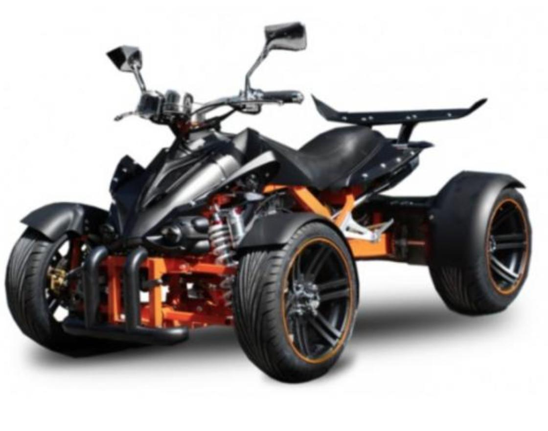 quad homologu 250cc spy racing 14 noir et orange. Black Bedroom Furniture Sets. Home Design Ideas