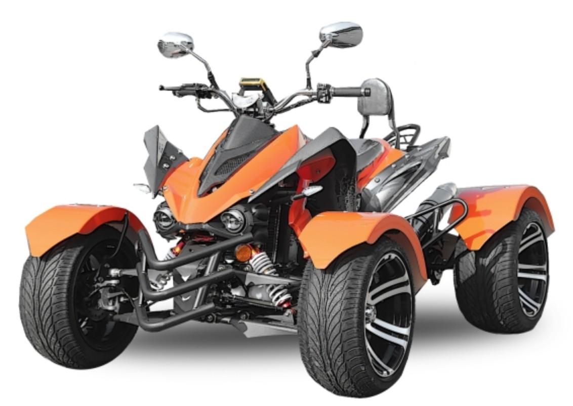 quad homologu 300cc jinling rs14 racing orange. Black Bedroom Furniture Sets. Home Design Ideas