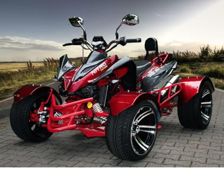 quad homologu 300cc jinling rs14 racing rouge. Black Bedroom Furniture Sets. Home Design Ideas