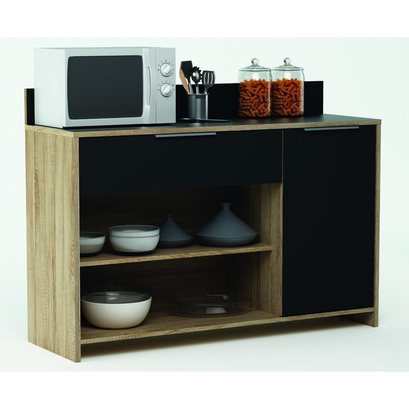 range tout cuisine 1 porte 1 tiroir soly. Black Bedroom Furniture Sets. Home Design Ideas