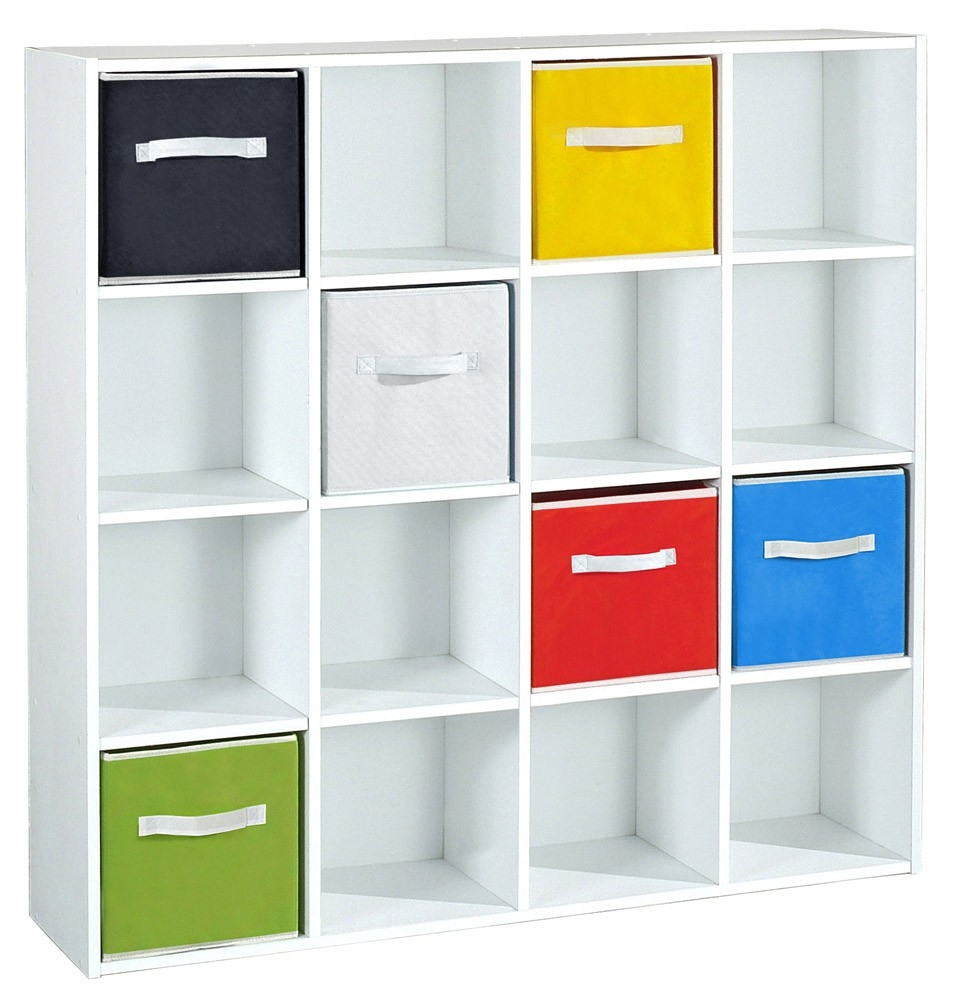 meuble rangement case meuble de rangement 3 cases blanc. Black Bedroom Furniture Sets. Home Design Ideas