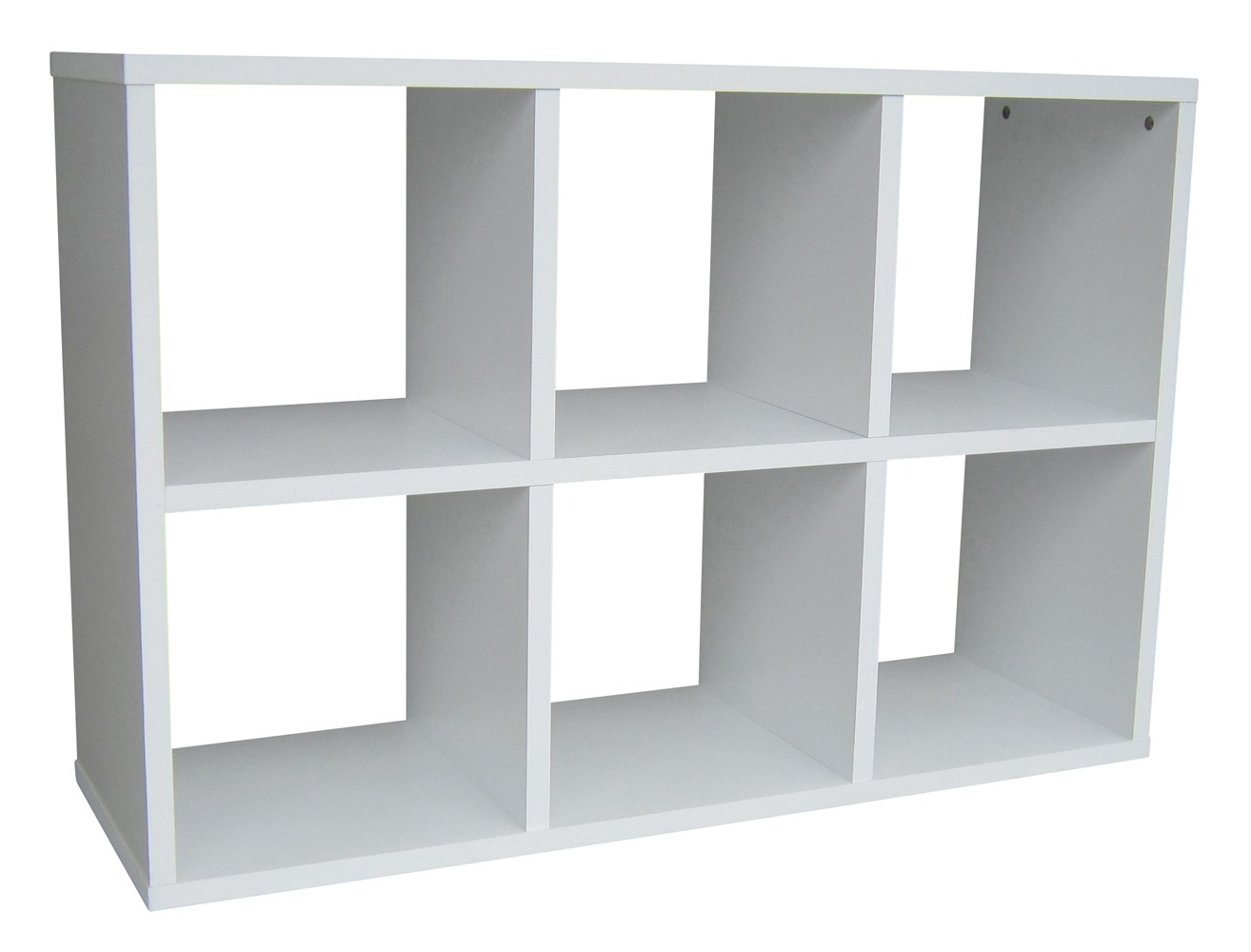 Rangement 6 cases blanc popsie for Meuble 6 cases ikea
