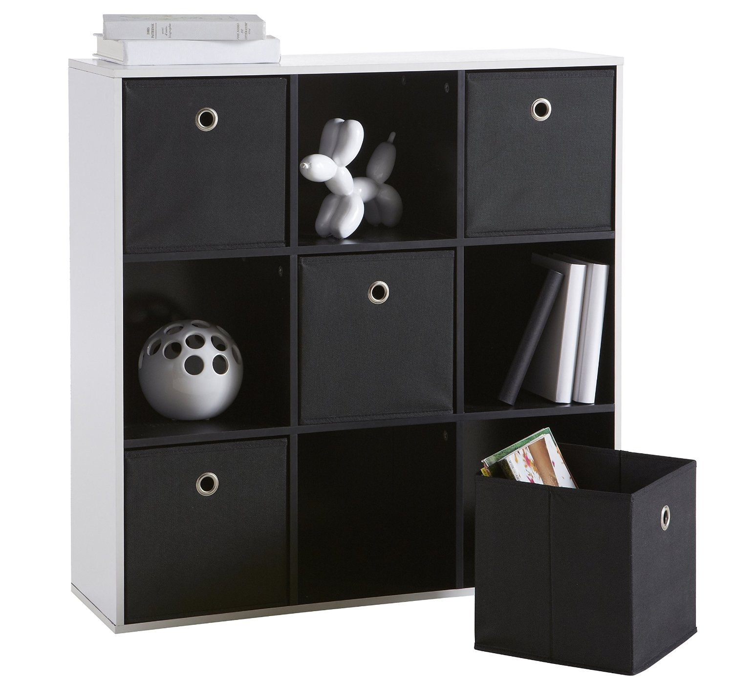 meuble rangement 9 cases maison design. Black Bedroom Furniture Sets. Home Design Ideas
