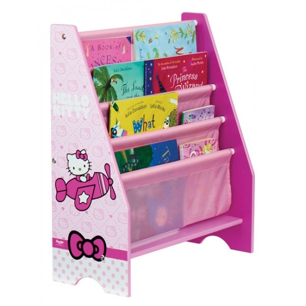 rangement pour livres hello kitty. Black Bedroom Furniture Sets. Home Design Ideas